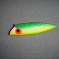 Crystal Basin Tackle Wee Thing Witch Doctor Gr/Wh/Yel