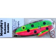 Father Murphy's Kokanee Dodger and Lure  Kombo Pink Green