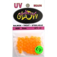 Radical Glow Beads 5mm Orange UV