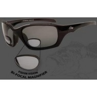 Fishin Vision Bi-Focal 150 Magnifier Keeper Sunglasses Black