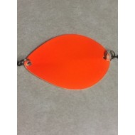 Trinidad Tackle Lake Wobbler Dodger Orange